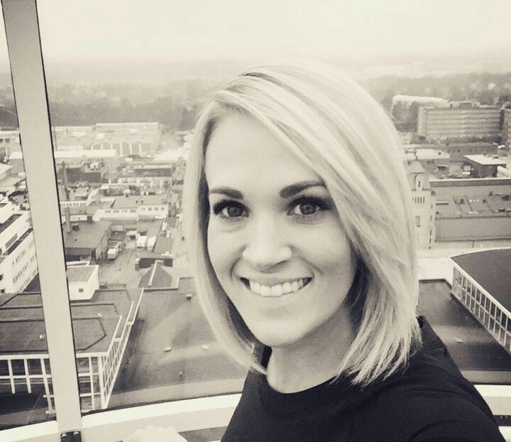 Carrie Underwood Short Hair 2016