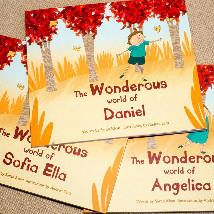 personalised child's story book by wonderous ink | notonthehighstreet.com