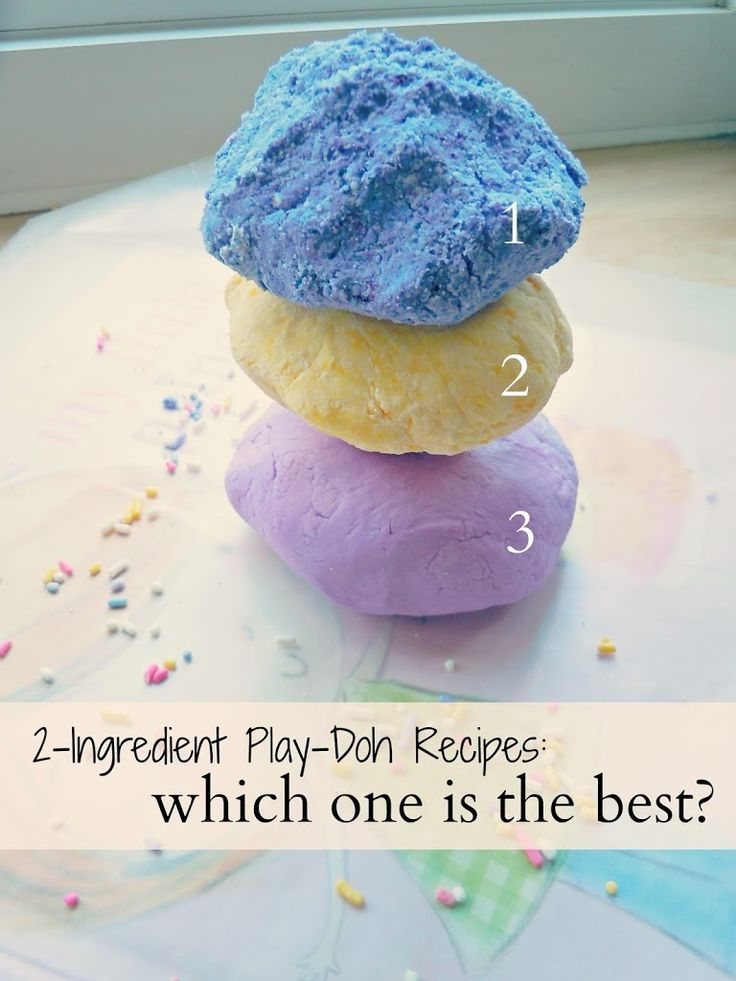 2 Ingredient Play-Doh Recipes: Which One is the BEST? - Life a Little Brighter