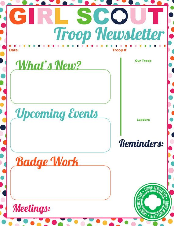 The 25+ best Girl scout troop ideas on Pinterest Girl scouts - emergency phone number list template