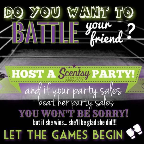 Board Game Ideas: Who Wants To BATTLE A Friend Or Family Member In A Scentsy