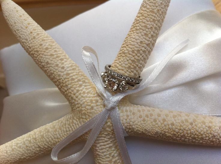 Fake Wedding Bands For Ring Bearer 67 Cool Ring bearer pillow beach