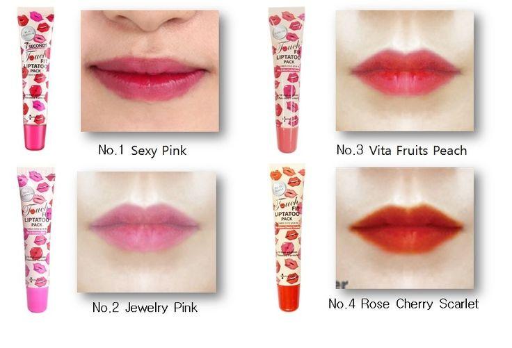 Korean Popular Lip tatoo pack 12 hours-lasting 15ml 1+1 Event  #skinfactory