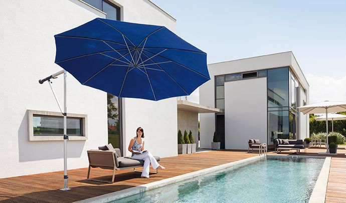 The May Mezzo Umbrella from Samson Awnings & Terrace ...