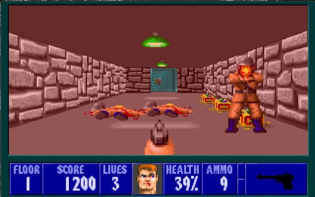 Wolfenstein 3D - This is where it all started...Doom, Quake, Half Life, Unreal Tournament, Halo, etc....