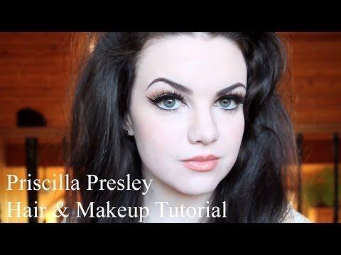 Priscilla Presley Hair & Makeup Tutorial
