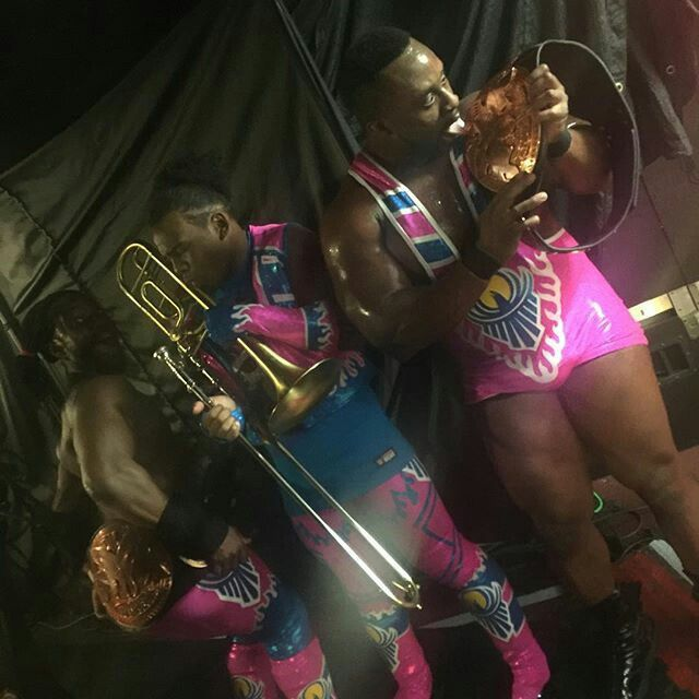WWE Tag Team Champions The New Day