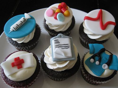 Nurse Cupcakes - Check out my site www.allthatfrost.com