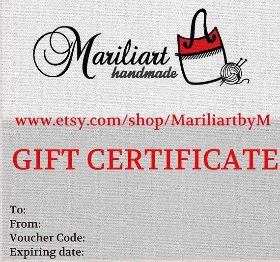 E gift certificateDigital gift card Last minute gift Email