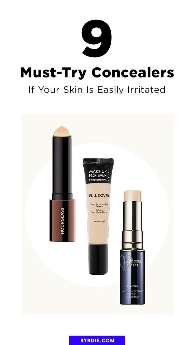 The 9 Concealers Makeup Artists Always Use on Clients With Sensitive Skin
