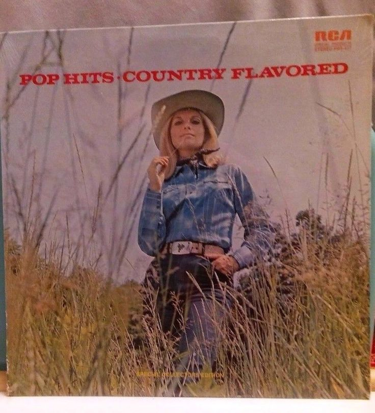 POP HITS COUNTRY FLAVORED  COLLECTORS EDITION 1972 331/2 LP SEALED ASST ARTISTS #CountryPop