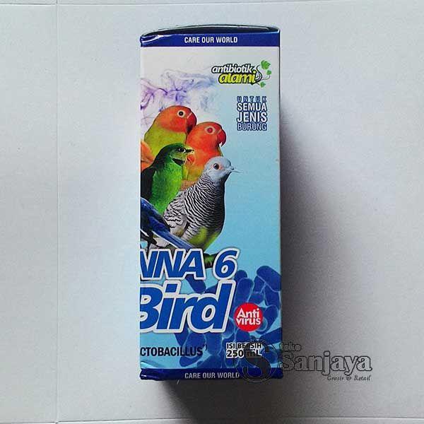 Bio Janna 6 for Birds, Multivitamin Herbal Harian