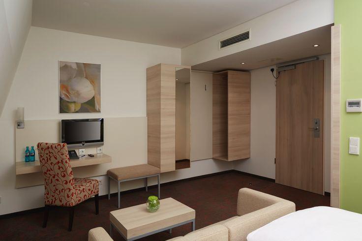 Hotelzimmer der Kategorie Business Studio   H+ Hotel München City Centre B&B