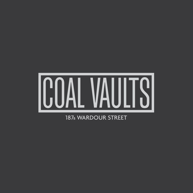 Coal Vaults – 187b Wardour Street, Soho