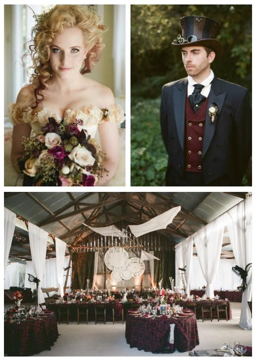 saw this at http://ruffledblog.com/victorian-steampunk-wedding/ beautifulInspiration for justin's outfit... Sadly, I don't have 15k for the wedding =(