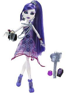Amazon.com: Monster High It's Alive Spectra Vondergeist Doll: Toys ...