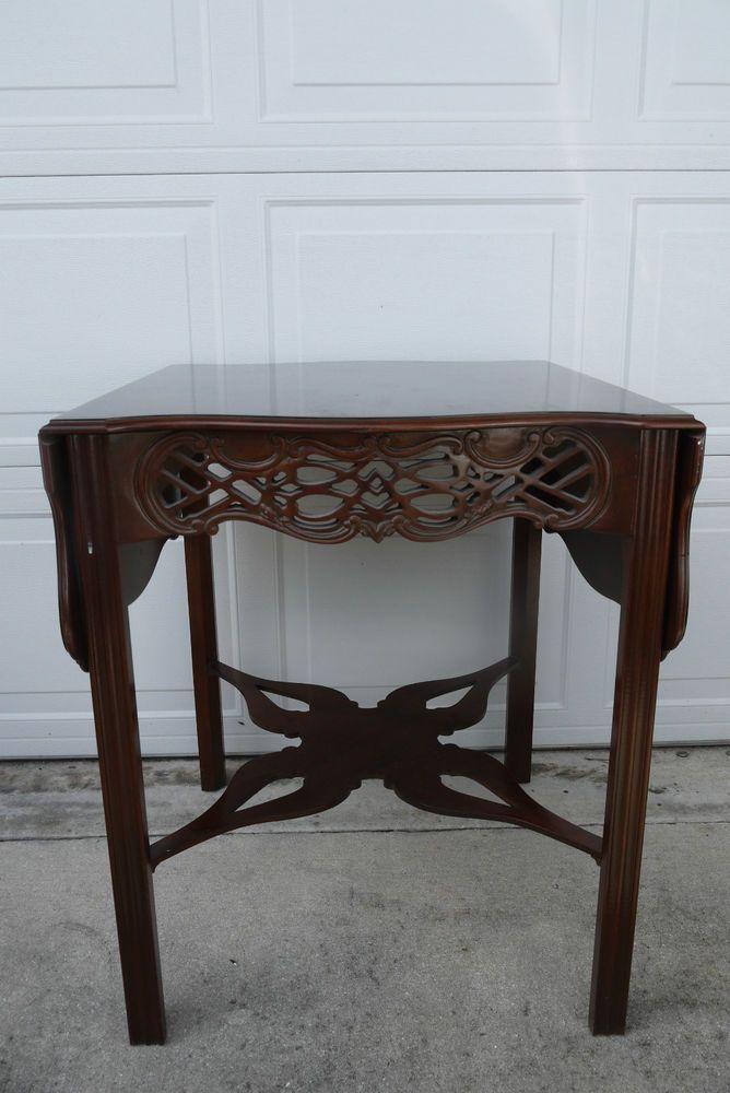 Baker Furniture Historic Charleston Mahogany Chippendale