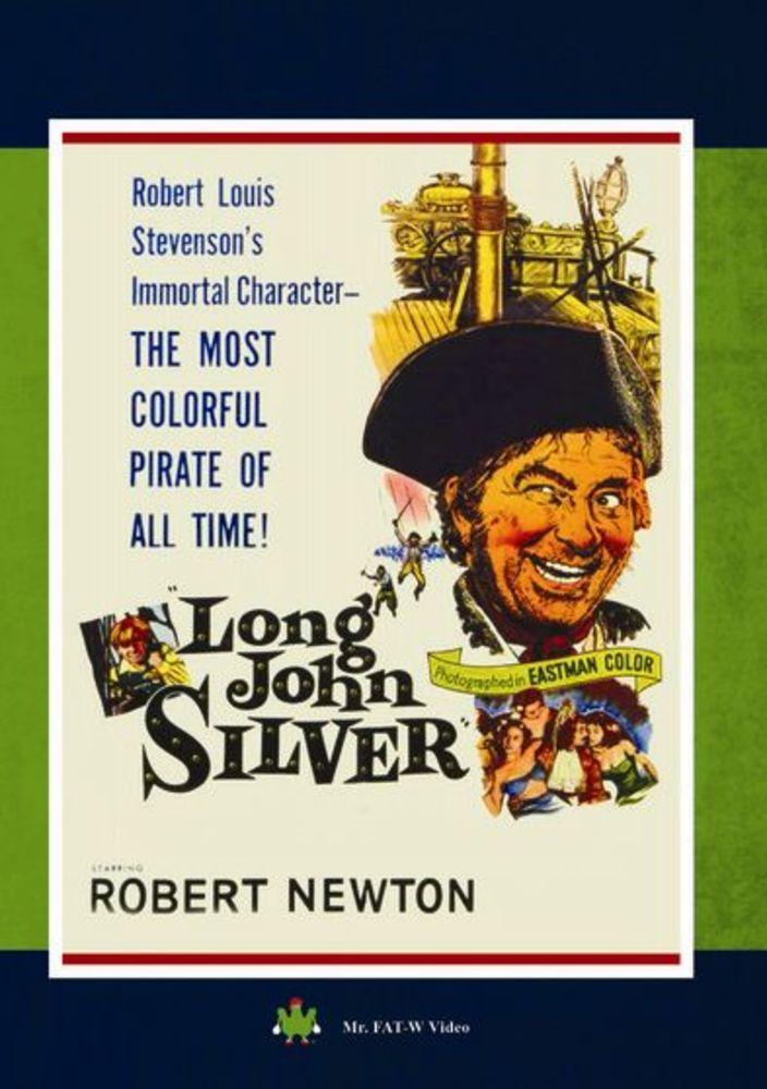 Long John Silver Dvd 1954 Best Buy Robert Newton Long John Silver Long John