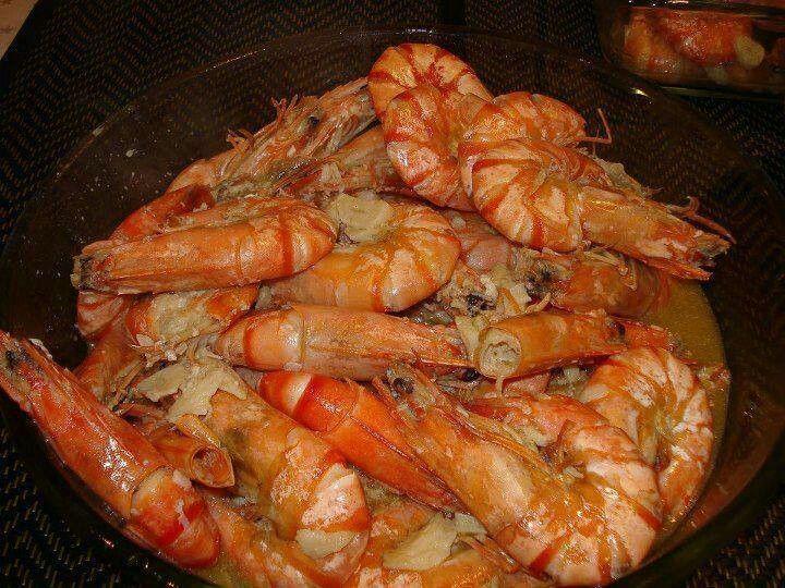 Ensopado de camarão
