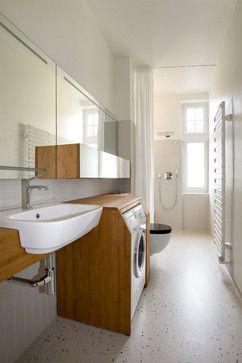 Umbau Altbauwohnung Berlin - contemporary - Bathroom - Other Metro - Kleinke Höhne Architektur Innenarchitektur