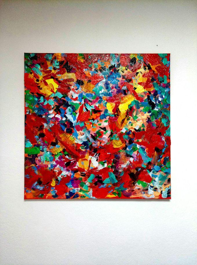 nel nido del cuculo arte astratta DreamsArt's quadri e dipinti astratti alessandro tognin Per acquistare il dipinto astratto on line