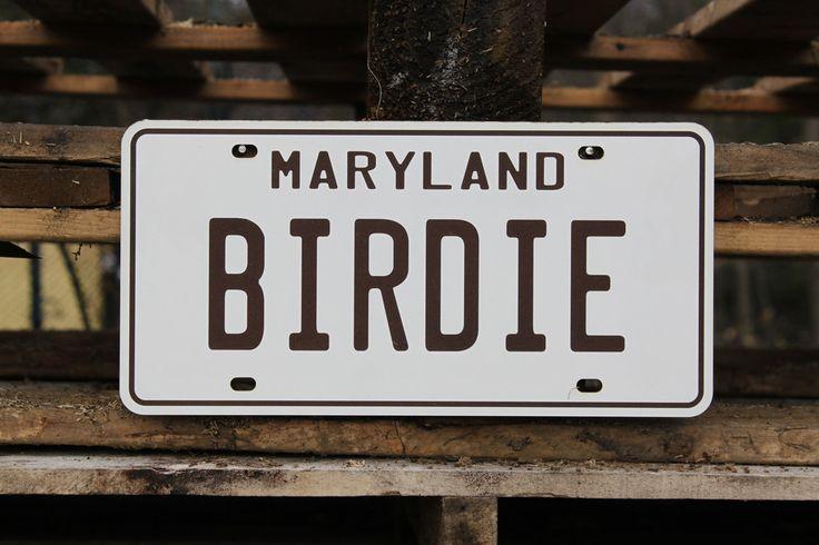Maryland Custom Laser Engraved Novelty Licence Plate