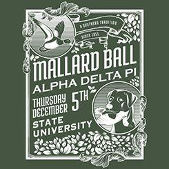{Shirts For Greeks} Mallard Ball