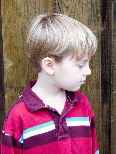 Little boy haircuts for fine hair   Little Boy Haircuts   Boy's short haircut, ...   a lil of this & a ...
