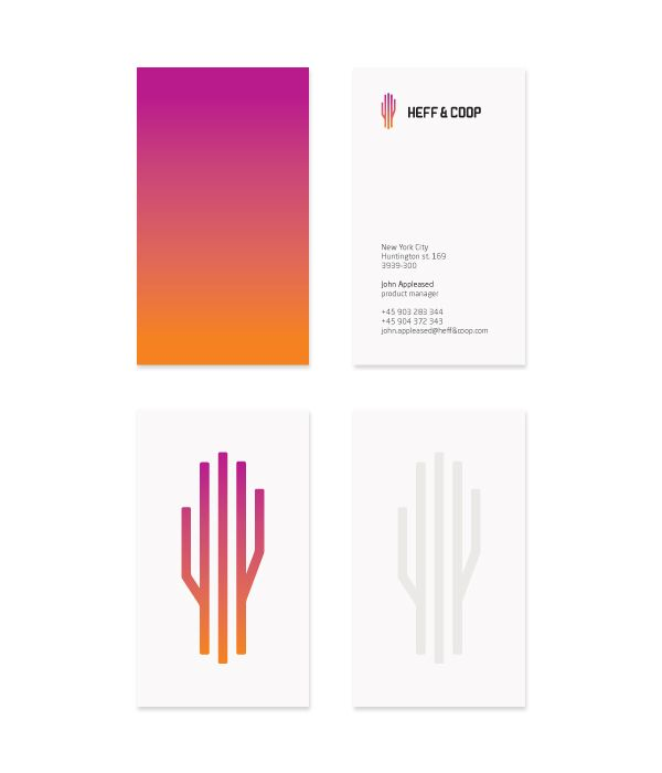 114 best business card design images on pinterest business cards a nice clean design for heff by cris labno reheart Image collections