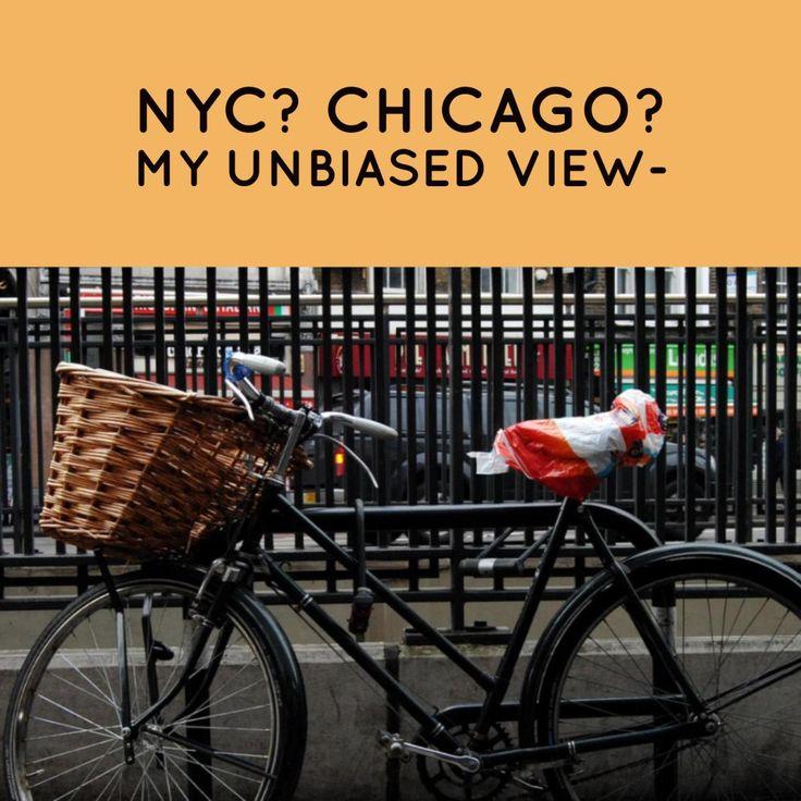 Travel, NYC, Chicago, Comparison