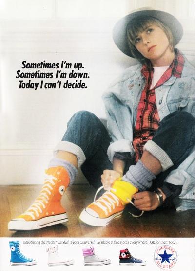 converse 1980s. 1987 converse ad 1980s