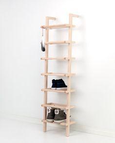 Best 25+ Vertical shoe rack ideas on Pinterest | Shoe organizer ...