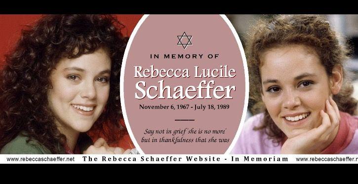 Rip Rebecca Schaeffer