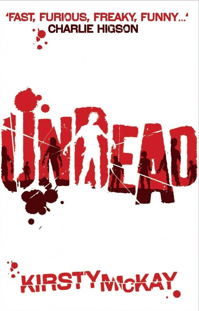 Undead by Kirsty McKay. When their ski-coach pulls up at a cafe, and everyone else gets off, new girl Bobby and rebel Smitty stay behind. They hardly know each other, but that soon changes when, through the falling snow, they see the others coming back.  Something has happened to them.  Something bad.  Soon only a pair of double doors stands between those on the bus and their ex-friends the Undead outside. Time to get a life.