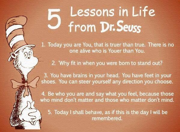 Oh Dr Seuss :)
