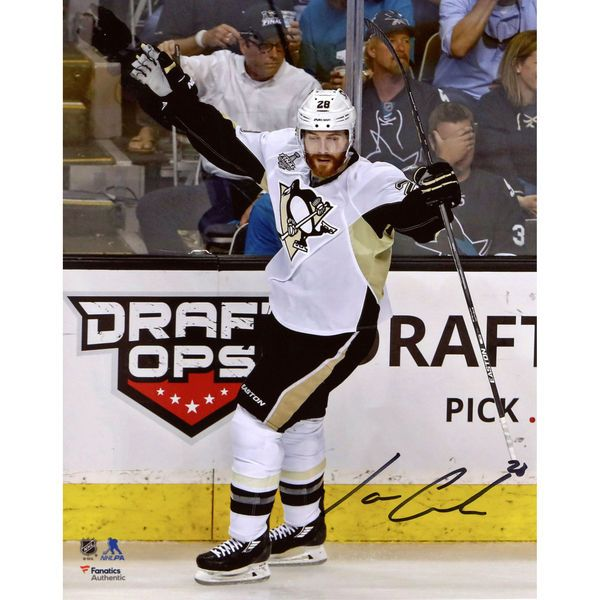 """Ian Cole Pittsburgh Penguins Fanatics Authentic 2016 Stanley Cup Champions Autographed 8"""" x 10"""" Goal Celebration Photograph - $39.99"""