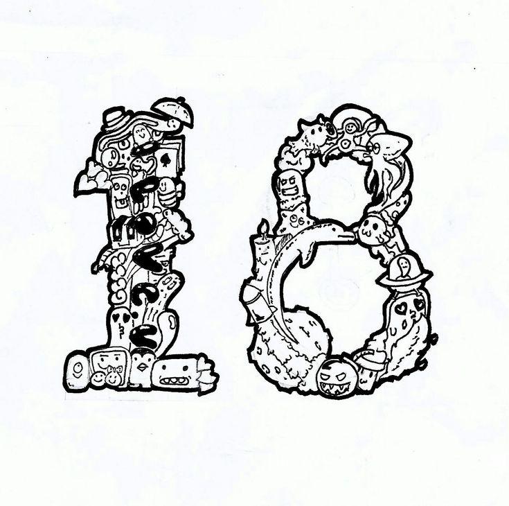 """18"" Doodle by gianmulya"