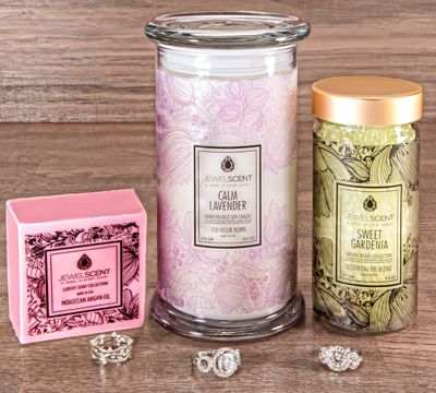 Spring Bloom: Win a JewelScent Bundle (candle, beads, & soap)