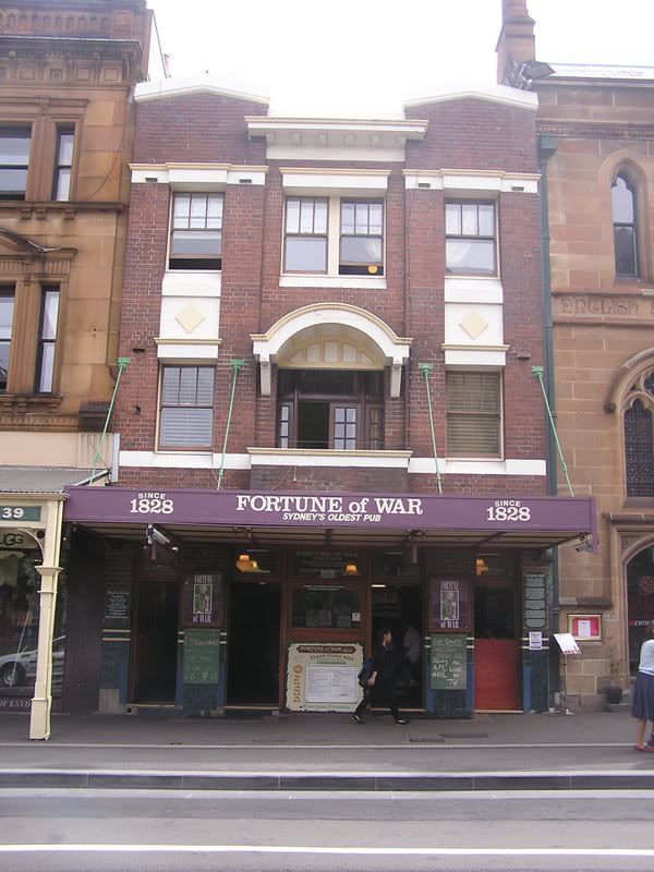 Fortune of War Pub, The Rocks, Sydney  www.pinterest.com/wholoves/Sydney   #sydney #australia