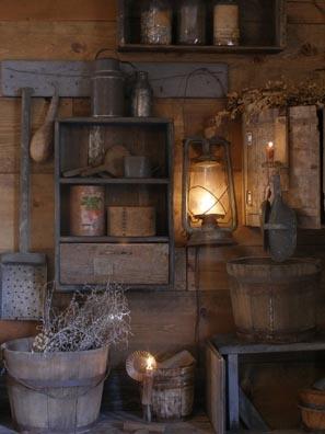 Sweet Liberty Homestead primitive lighting and barn lamp.