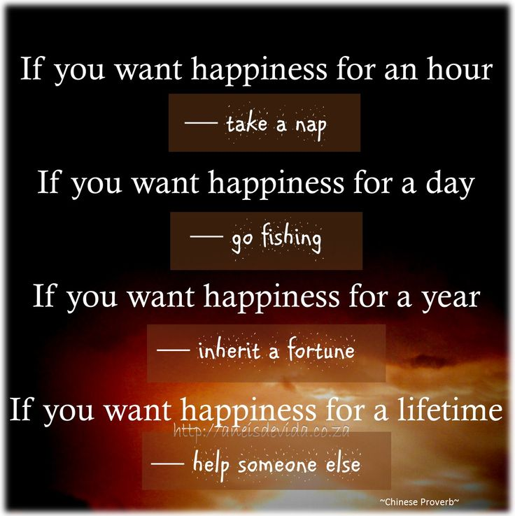 If you want Happiness...  http://aneisdevida.co.za