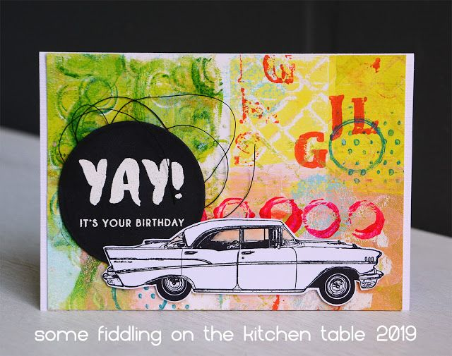 Classic Cars (Some fiddling on the kitchen table)