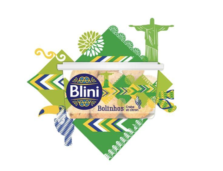 Les Bolinhos (crabe et citron vert), inspiration Brésilienne.