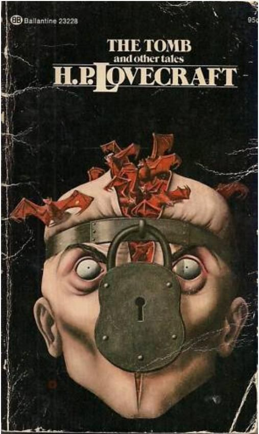 H.P. Lovecraft's first published tale, a good early work that has many similarities to Poe. Later on in his career, Lovecraft started to come into his own with an interesting style. The cover is interesting and definitely disturbing but doesn't exactly match the tone.