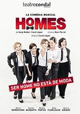 Teatre Condal - Homes, la comèdia musical