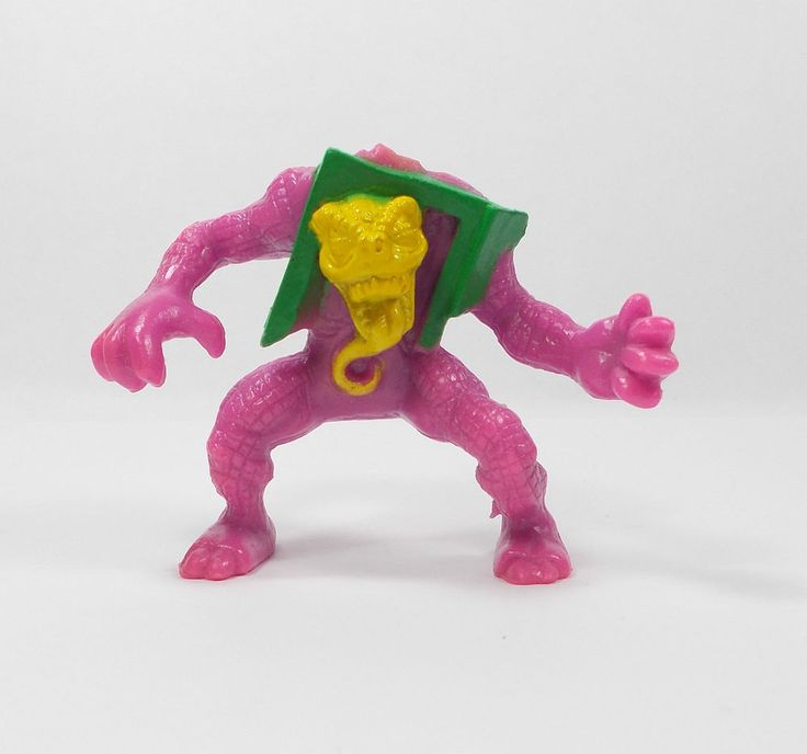 Monster In My Pocket - Series 4 - 106 Creature from the Closet - Mini Figure A