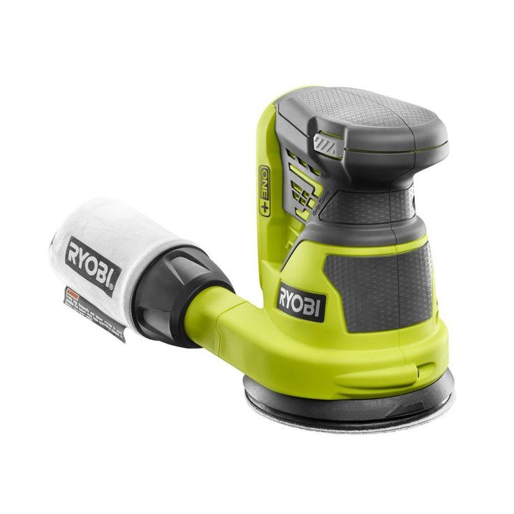 Ryobi ONE+ 18-Volt 5 in. Cordless Random Orbit Sander (Tool-Only)-P411 - The Home Depot