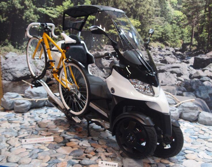 気になるスクーター&ミニバイク(海外メーカー編)【東京モーターサイクルショー2016】 : ForRide(フォーライド)