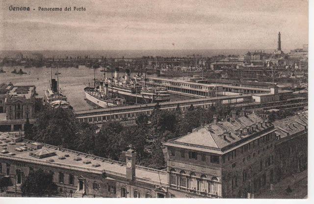 C'ERA UNA VOLTA GENOVA - Prince's palace end the Maritime station around 1930…