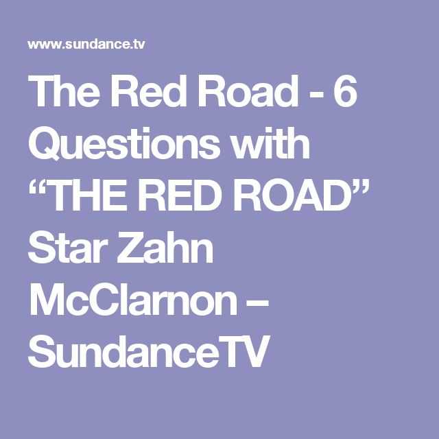 "The Red Road - 6 Questions with ""THE RED ROAD"" Star Zahn McClarnon  – SundanceTV"